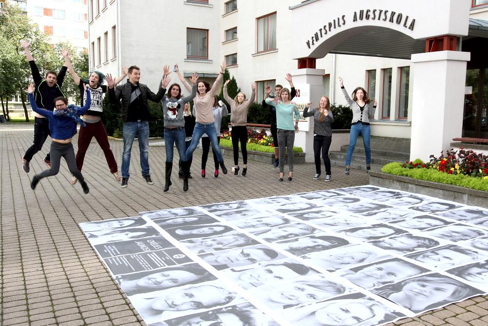 Career development workshop at the Ventspils University (Latvia).