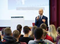 Career days in Dobele led by trainer Andris Arhomkins