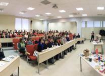 Entrepreneurship seminar at the University Vilnius (Lithuania)