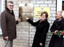 Bauska Mayor, the US Ambassador and Solvita Jirgensone at the Start Strong Center opening ceremony