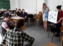 Career modeling workshop at the Ventspils University