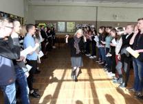 Self development seminar at the Siauliu High School in Lithuania